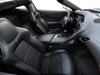 2018 Chevrolet Corvette Coupe Grand Sport 3LT | Photo 1 | Jet Black GT buckets Leather seating surfaces with sueded microfiber inserts (198-AQ9)