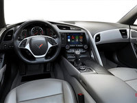 2018 Chevrolet Corvette Coupe Stingray Z51 2LT | Photo 2 | Grey GT buckets Leather seating surfaces with sueded microfiber inserts (144-AQ9)