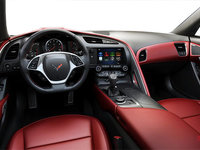 2018 Chevrolet Corvette Coupe Stingray Z51 2LT | Photo 2 | Adrenaline Red GT buckets Perforated Mulan leather seating surfaces (703-AQ9)