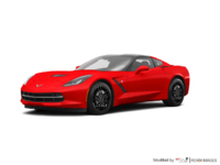 2018 Chevrolet Corvette Coupe Stingray Z51 3LT | Photo 3 | Torch Red
