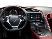 2018 Chevrolet Corvette Coupe Stingray Z51 3LT | Photo 3 | Adrenaline Red GT buckets Leather seating surfaces with sueded microfiber inserts (706-AQ9)