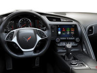 2018 Chevrolet Corvette Coupe Stingray Z51 3LT | Photo 3 | Jet Black GT buckets Perforated Napa leather seating surfaces (195-AQ9)