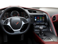 2018 Chevrolet Corvette Coupe Stingray Z51 3LT | Photo 3 | Spice Red GT buckets Perforated Napa leather seating surfaces (755-AQ9)