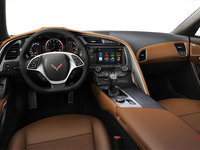 2018 Chevrolet Corvette Coupe Stingray Z51 3LT | Photo 2 | Kalahari Competition Sport buckets Leather seating surfaces with sueded microfiber inserts (346-AE4)