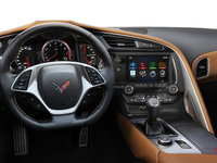 2018 Chevrolet Corvette Coupe Stingray Z51 3LT | Photo 3 | Kalahari Competition Sport buckets Perforated Mulan leather seating surfaces (345-AE4)
