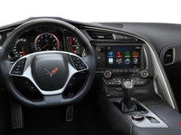 2018 Chevrolet Corvette Coupe Stingray Z51 3LT | Photo 3 | Jet Black Competition Sport buckets Perforated Mulan leather seating surfaces (195-AE4)