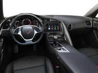 2018 Chevrolet Corvette Coupe Stingray Z51 3LT | Photo 2 | Jet Black Competition Sport buckets Perforated Mulan leather seating surfaces (195-AE4)