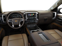 2018 Chevrolet Silverado 1500 LTZ 1LZ | Photo 3 | Cocoa/Dune Bucket seats Perforated Leather  (AN3-H3A)