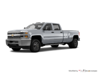 2018 Chevrolet Silverado 3500 HD WT | Photo 3 | Silver Ice Metallic