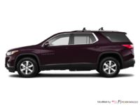 2018 Chevrolet Traverse LT TRUE NORTH | Photo 1 | Black Currant Metallic