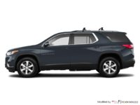 2018 Chevrolet Traverse LT TRUE NORTH | Photo 1 | Graphite Metallic