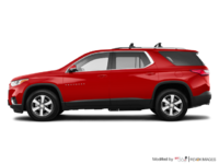 2018 Chevrolet Traverse LT TRUE NORTH | Photo 1 | Cajun red tintcoat