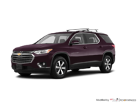 2018 Chevrolet Traverse LT TRUE NORTH | Photo 3 | Black Currant Metallic