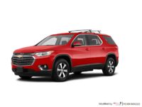 2018 Chevrolet Traverse LT TRUE NORTH | Photo 3 | Cajun red tintcoat