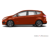 2018 Ford C-MAX HYBRID TITANIUM | Photo 1 | Hot Pepper Red Tinted Clearcoat