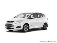 2018 Ford C-MAX HYBRID TITANIUM | Photo 3 | White Platinum Metallic Tri-Coat