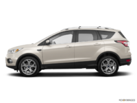 2018 Ford Escape TITANIUM | Photo 1 | White Gold