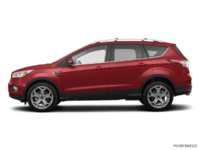 2018 Ford Escape TITANIUM | Photo 1 | Ruby Red Metalic Tinted