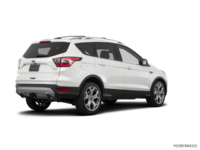 2018 Ford Escape TITANIUM | Photo 2 | White Platinum Metallic