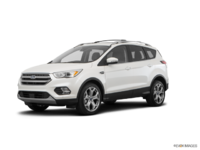 2018 Ford Escape TITANIUM | Photo 3 | White Platinum Metallic