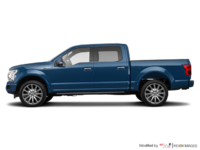 2018 Ford F-150 LIMITED | Photo 1 | Blue Jeans Metallic