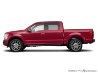 2018 Ford F-150 LIMITED | Photo 1 | Ruby Red Metallic