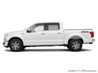 2018 Ford F-150 PLATINUM | Photo 1 | White Platinum Metallic
