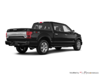2018 Ford F-150 PLATINUM | Photo 2 | Shadow Black