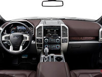 2018 Ford F-150 PLATINUM | Photo 3 | Dark Marsala Leather Buckets Seats (BB)