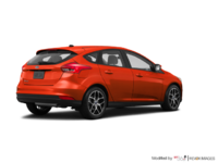 2018 Ford Focus Hatchback SEL | Photo 2 | Hot Pepper Red Metallic