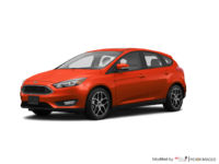 2018 Ford Focus Hatchback SEL | Photo 3 | Hot Pepper Red Metallic