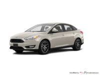 2018 Ford Focus Sedan SE | Photo 3 | White Gold
