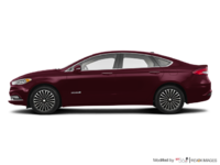 2018 Ford Fusion Hybrid TITANIUM | Photo 1 | Burgundy Velvet