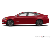 2018 Ford Fusion Hybrid TITANIUM | Photo 1 | Ruby Red