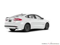 2018 Ford Fusion Hybrid TITANIUM | Photo 2 | Oxford White