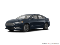 2018 Ford Fusion Hybrid TITANIUM | Photo 3 | Blue Metallic