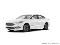 2018 Ford Fusion Hybrid TITANIUM | Photo 3 | Oxford White