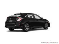 2018 Honda Civic hatchback LX | Photo 2 | Crystal Black Pearl