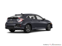 2018 Honda Civic hatchback LX | Photo 2 | Polished Metal Metallic