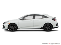 2018 Honda Civic hatchback SPORT TOURING | Photo 1 | White Orchid Pearl