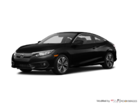 2018 Honda Civic Coupe EX-T | Photo 3 | Crystal Black Pearl