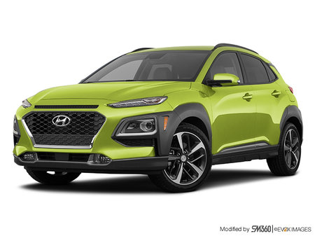 Hyundai Kona ULTIMATE Noir avec garnitures lime 2019 - photo 3