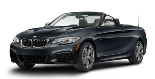 2015 Bmw 2 Series M235i Xdrive Coupe Mineral Grey Metallic Black