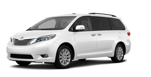 Toyota Sienna LIMITED FWD 7 PLACES 2016
