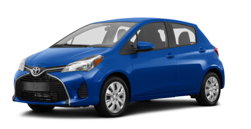 Toyota Yaris Hatchback 5-DOOR LE 2016