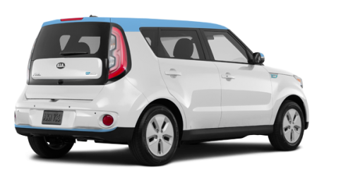 Kia Soul EV EV LUXURY 2017