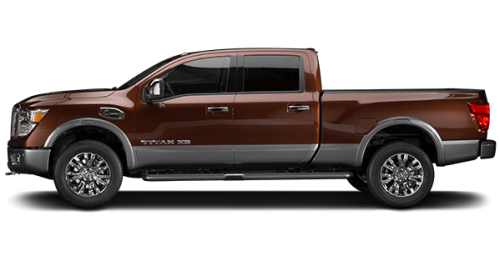 new 2017 nissan titan xd diesel platinum for sale in montreal spinelli nissan. Black Bedroom Furniture Sets. Home Design Ideas