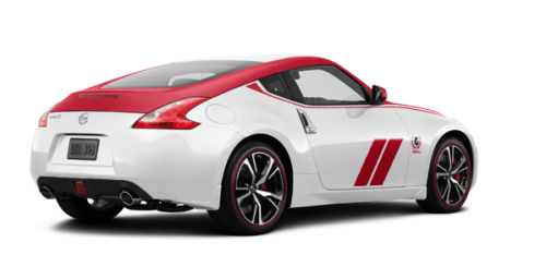 Nissan 370Z Coupe 50th Anniversary Edition Pearl White/Solid Red 2020