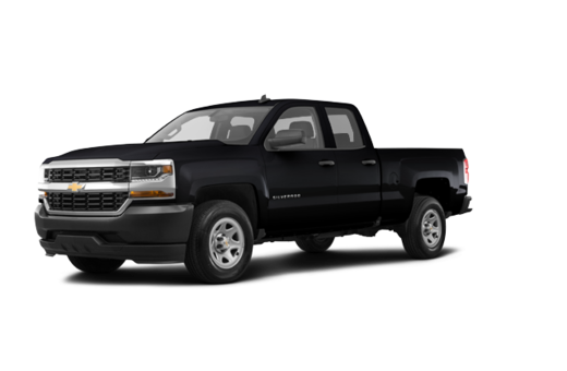 CHEVY TRUCKS SILVERADO 1500 DOUBLE 4X4 1WT 2017