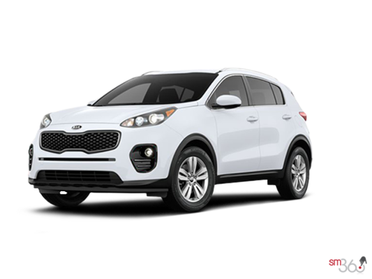 kia st constant kia sportage 2 4l lx ti blanc 2017 vendre saint constant. Black Bedroom Furniture Sets. Home Design Ideas